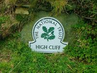 Cornwall's highest cliff