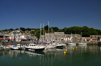 Padstow Harbour in the Camel Estuary