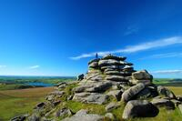 Roughtor on Bodmin Moor in Cornwall